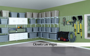 Garage storage organization