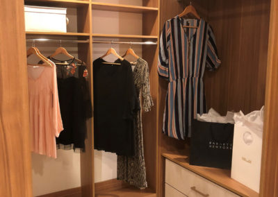 For the professional in Las Vegas: life is made easier with a custom luxury walk-in closet!