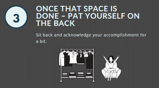 Step 3 is about giving yourself a break: recognize your accomplishments!