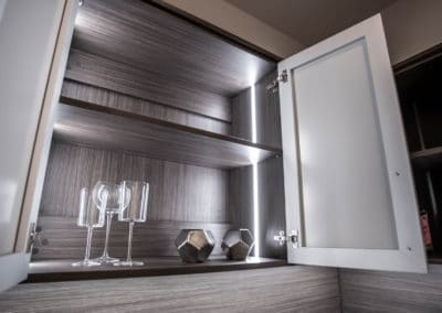 Explore lighting options for your storage spaces! Talk to a custom closet system designer now!