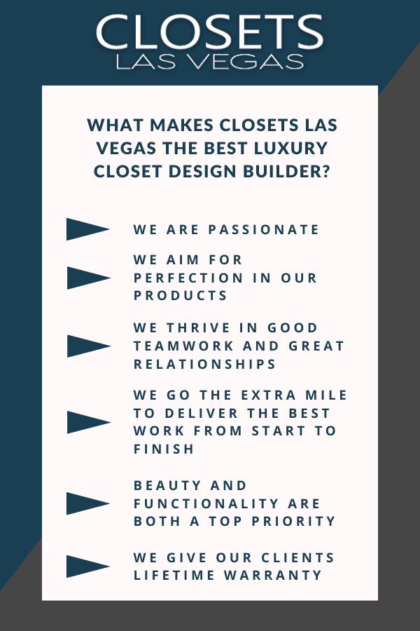 what makes closets las vegas best luxury closet builder