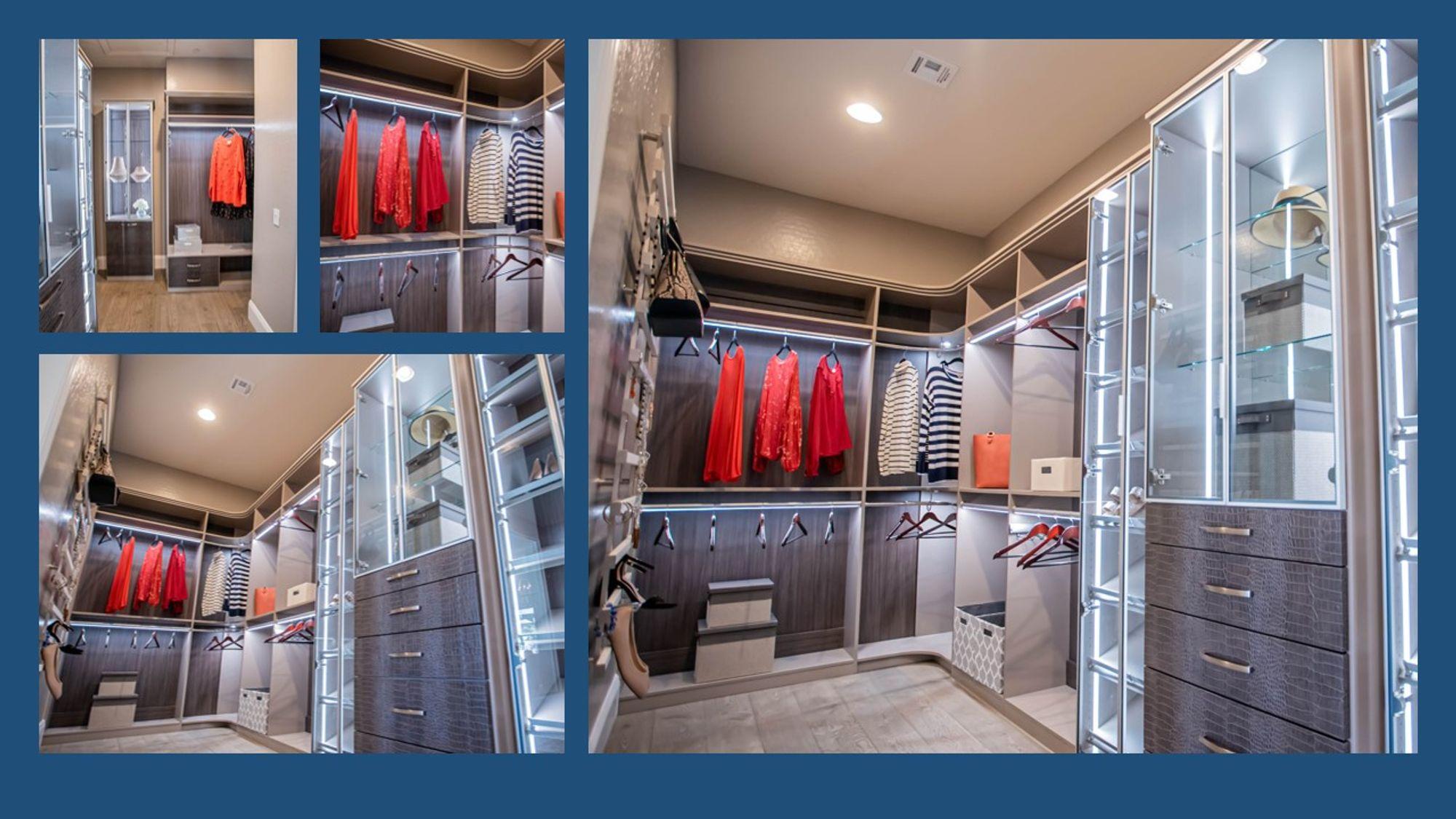 Closets Las Vegas luxury closet design