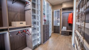 Las Vegas Expensive walk in closets with elegant design and sophisticated features
