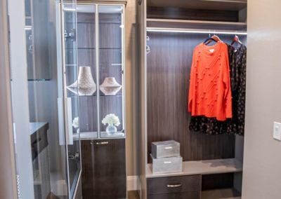 Las Vegas luxury closet design for her