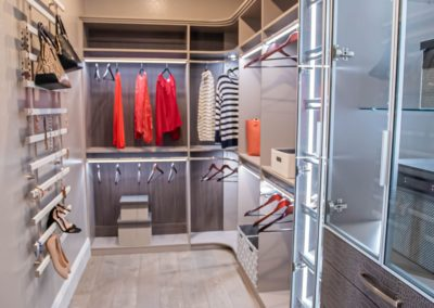 functional and stylish expensive walk in closet in Las Vegas