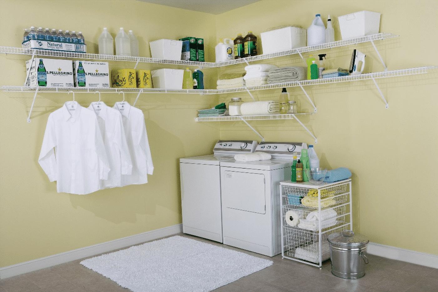 Best Laundry Room Shelving by Closets Las Vegas