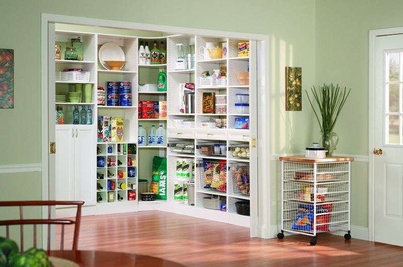 Best Pantry Shelving Ideas by Closets Las Vegas