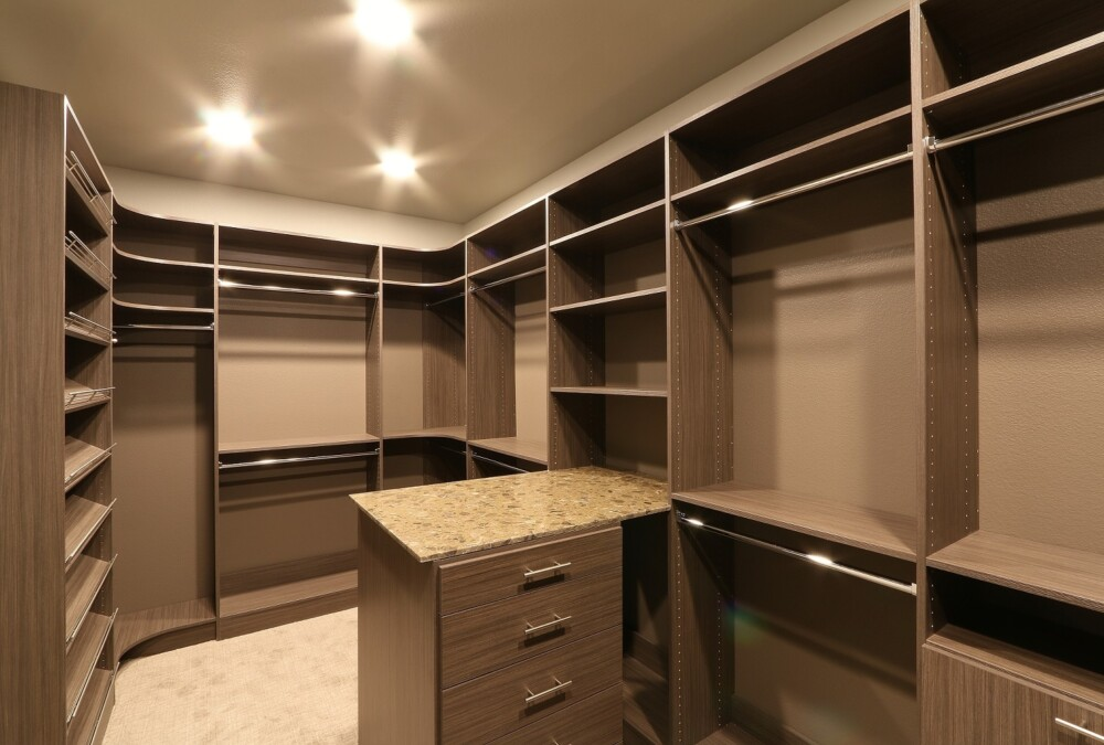 Check this out and be stunned by this Classica luxury custom walk in closet in Driftwood Live