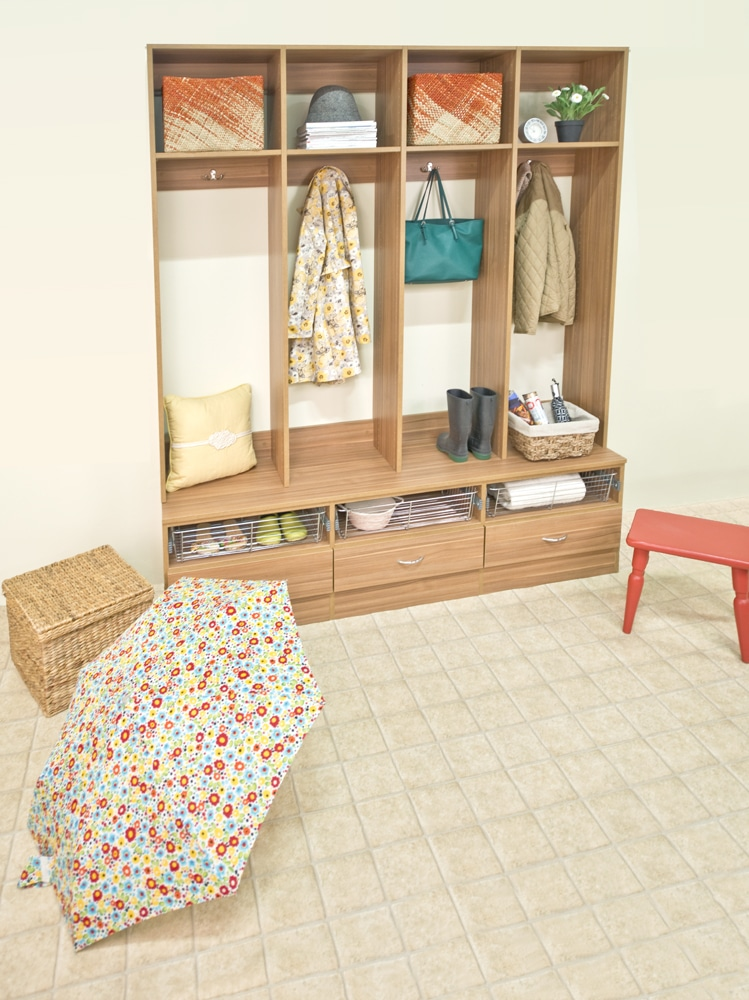 Floor Mounted Affordable Custom Closets