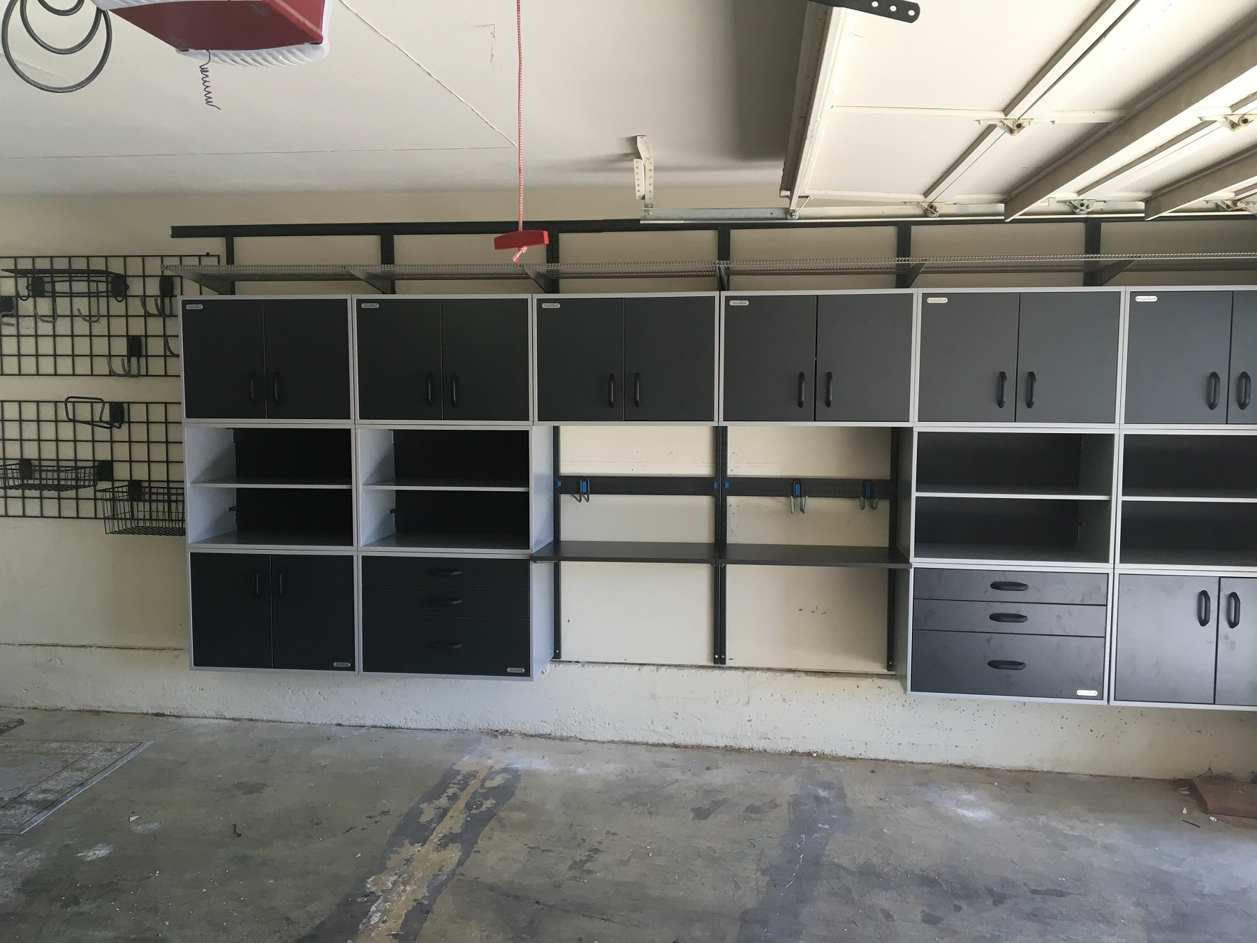 Custom Garage Storage Wall Mounted System